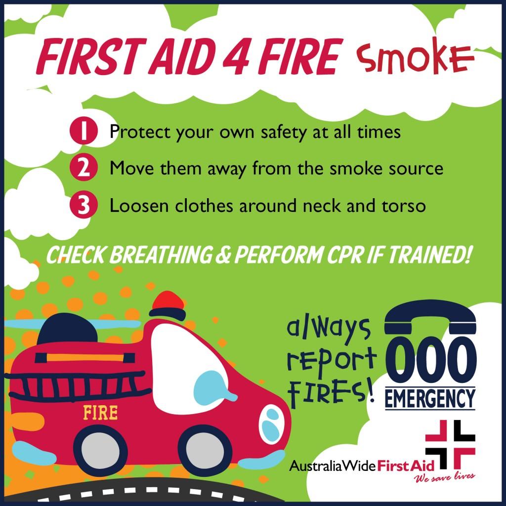 First Aid 4 Fires-smoke inhalation